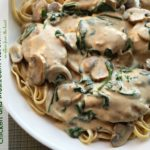 Chicken and Mushroom Florentine Pasta