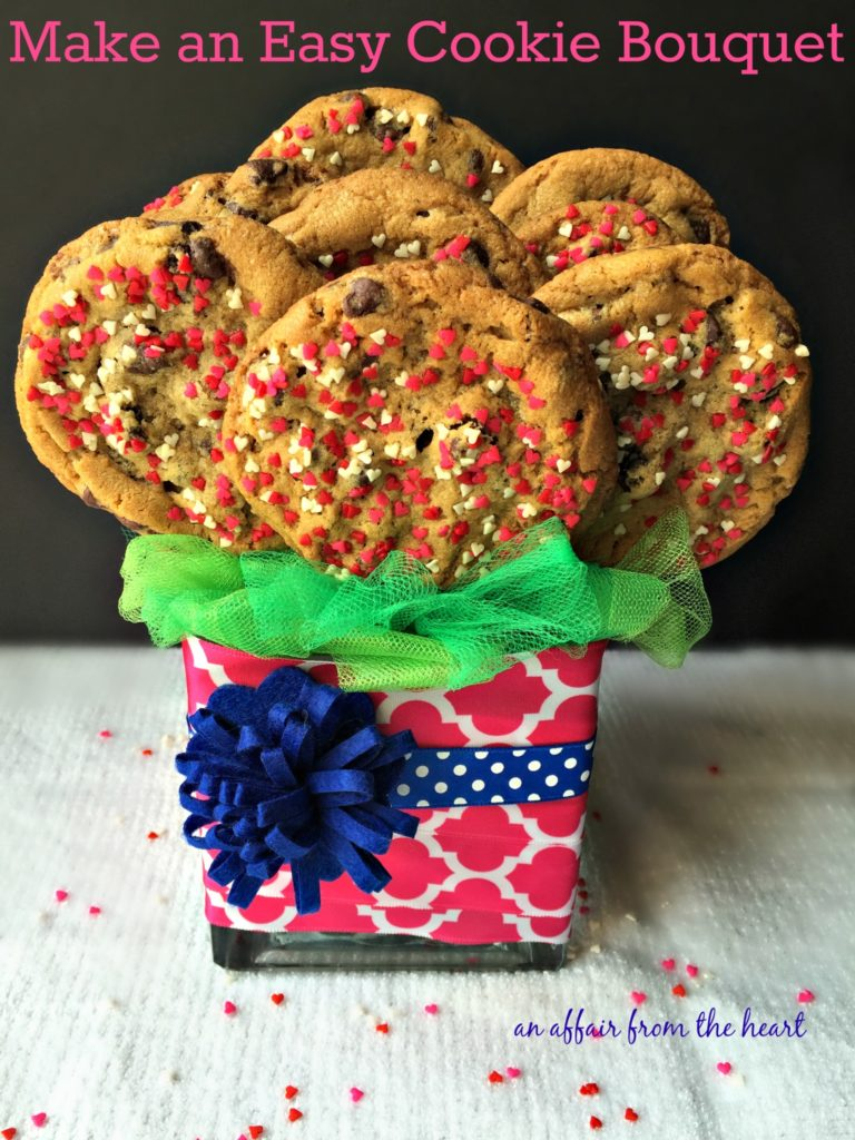 Homemade Cookie Bouquet
