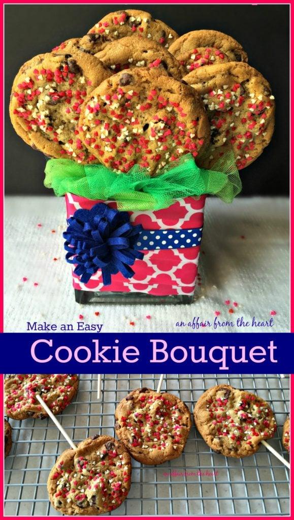 Homemade Cookie Bouquet - An Affair from the Heart
