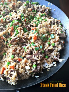 Steak Fried Rice - An Affair from the Heart