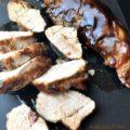 Sweet Balsamic Glazed Pork Tenderloin