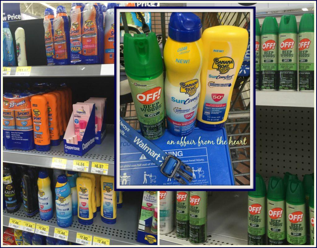 Banana Boat® & OFF!® at Walmart