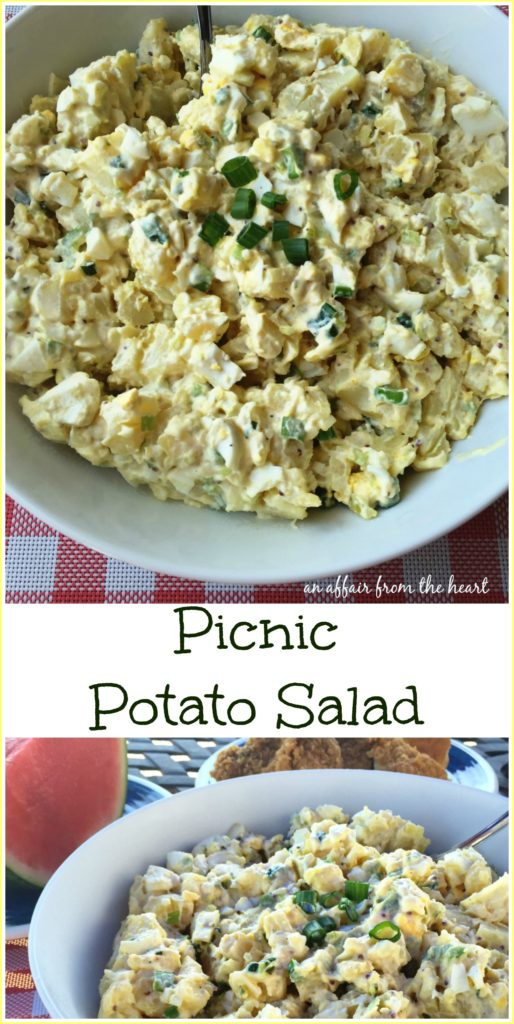 Picnic Potato Salad An Affair from the Heart