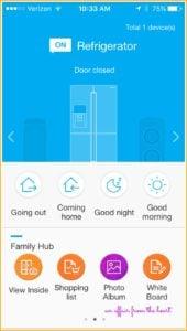 Samsung Family Hub App