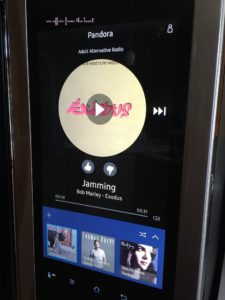 Samsung Family Hub Pandora App