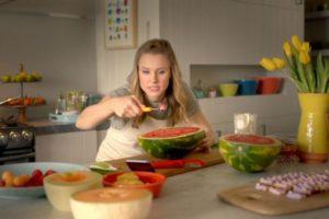 Samsung Family Hub Kristen Bell & Dax Sheppard