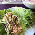 Buffalo Chicken Lettuce Wraps - An Affair from the Heart