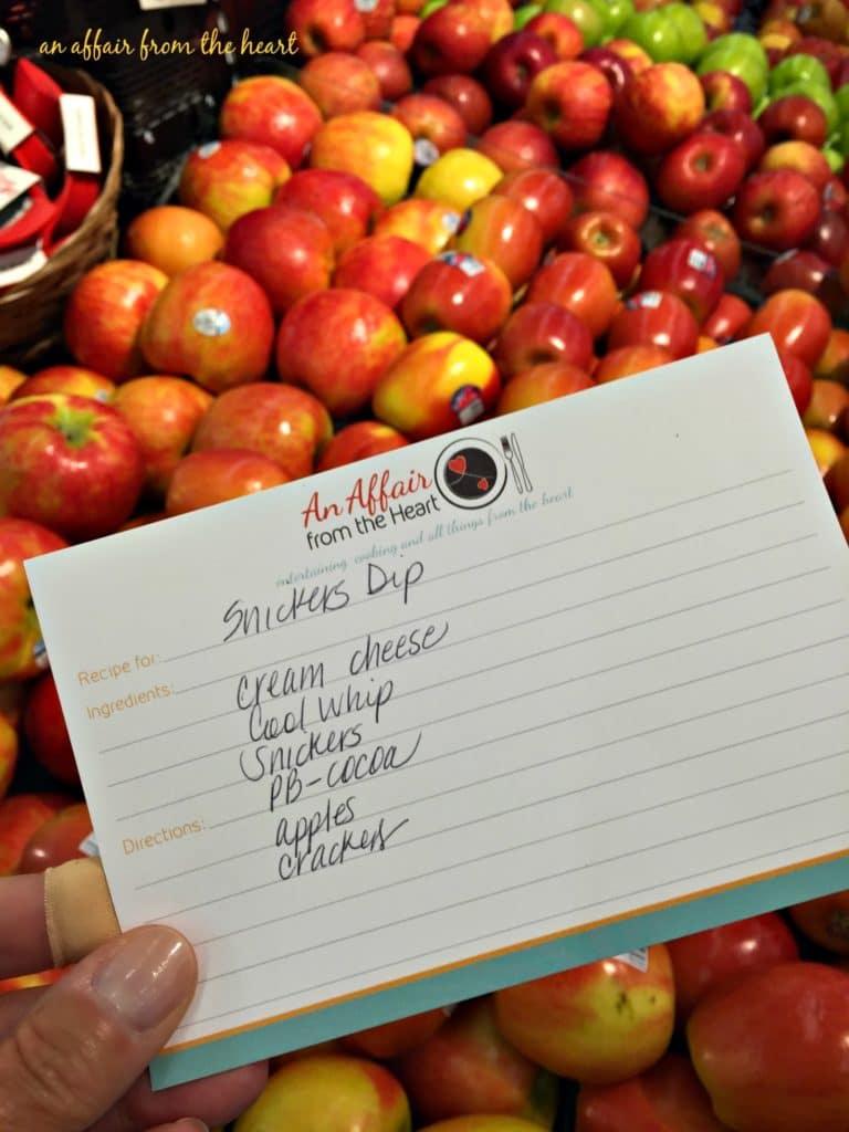 FF grocery list