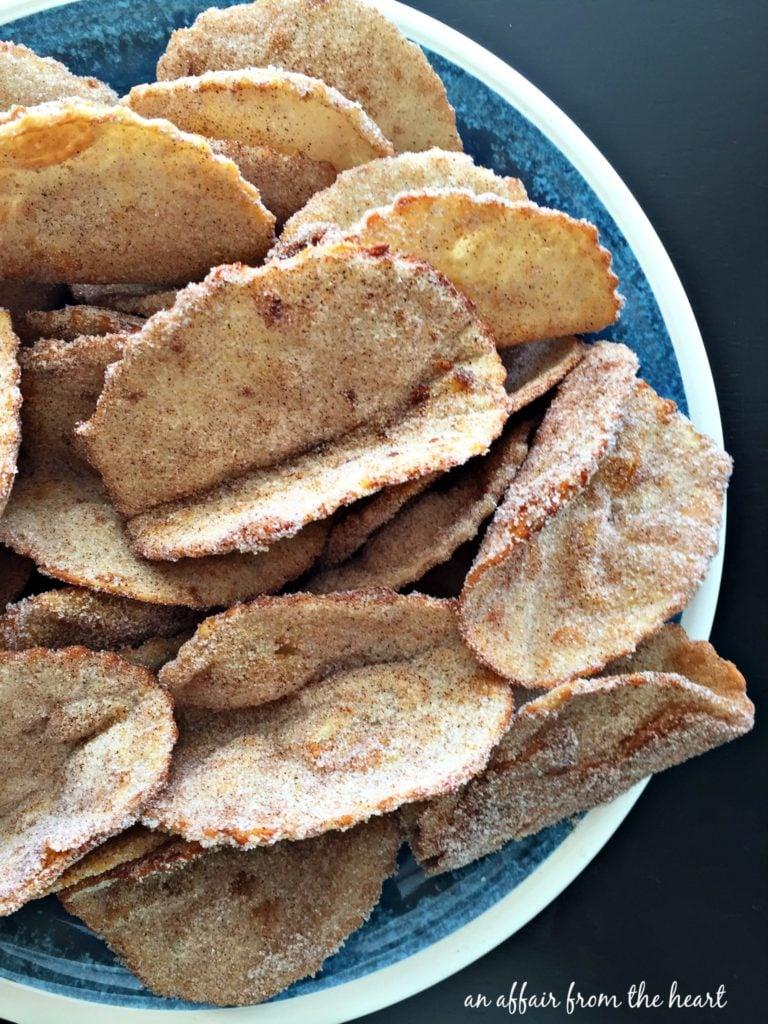 Cinnamon Sugar Tacos