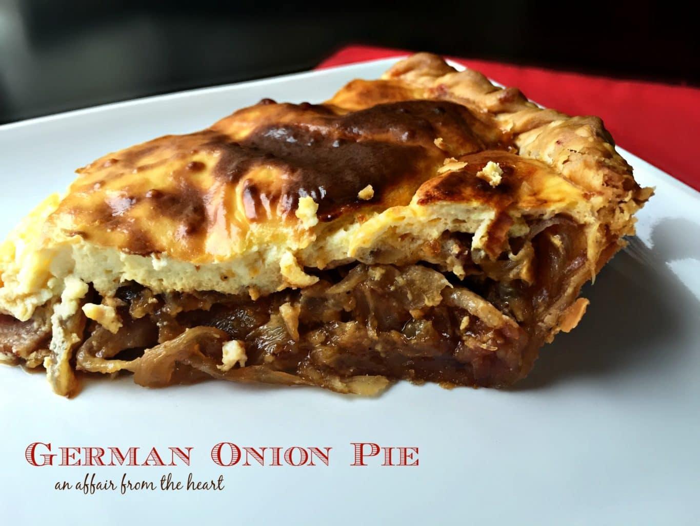 German Onion Pie {Zwiebelkuchen}