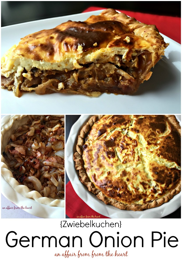 German Onion Pie {Zwiebelkuchen} -- An Affair from Heart