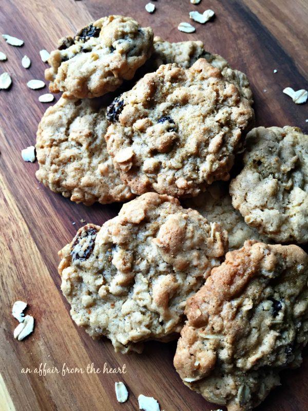 Grandma Jane's Oatmeal Raisin Cookies