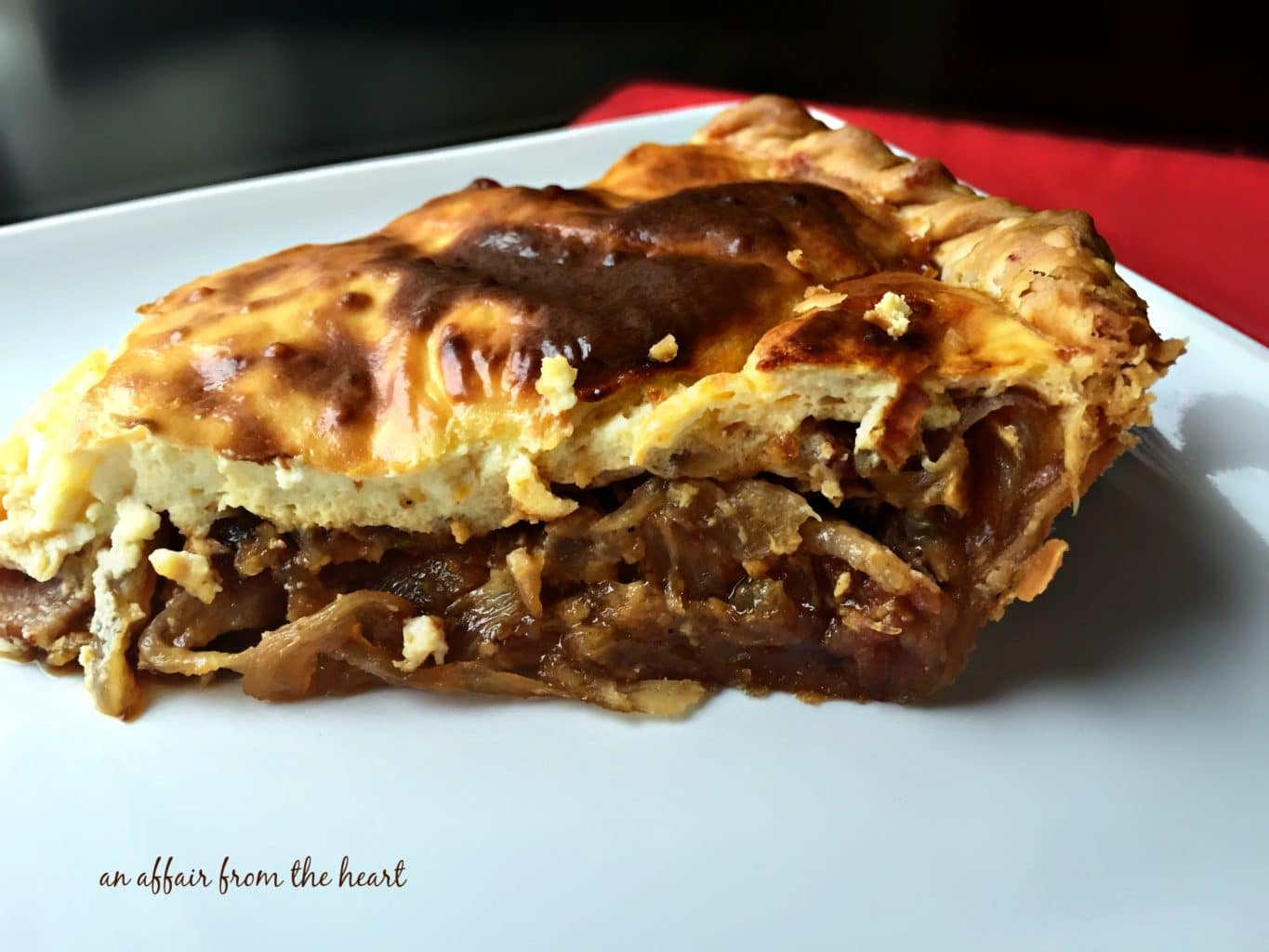 German Onion Pie {Zwiebelkuchen}
