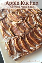 Apple Kuchen (German Apple Cake)