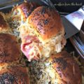 Baked Roast Beef Sliders with Horseradish Sauce