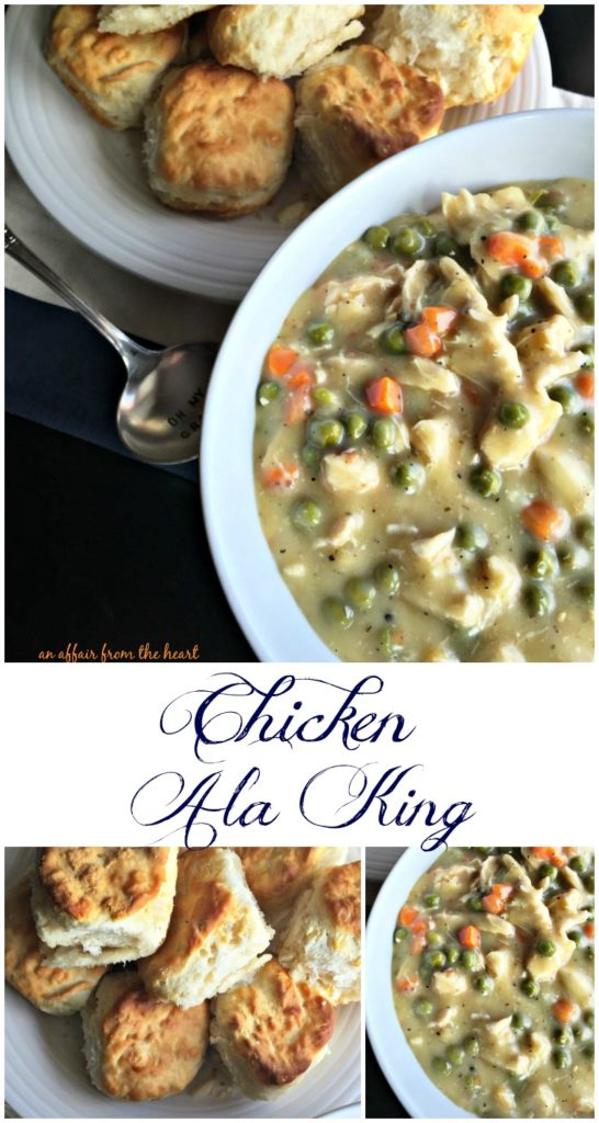 Chicken Ala King - An Affair from the Heart