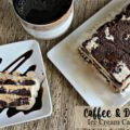 Coffee & Donuts Ice Cream Cake - An Affair from the Heart
