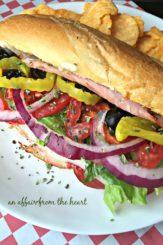 Toasted Italian Sub Sandwiches - An Affair from the Heart