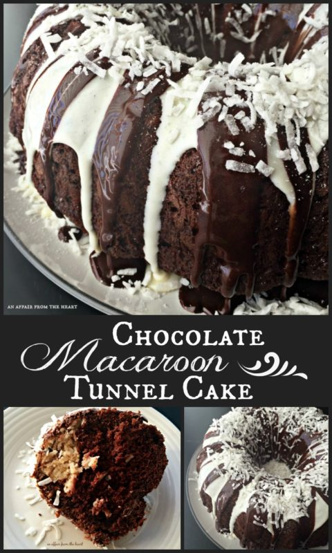 Chocolate Macaroon Tunnel Cake - An Affair from the Heart