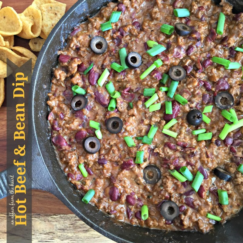 Hot Beef & Bean Dip