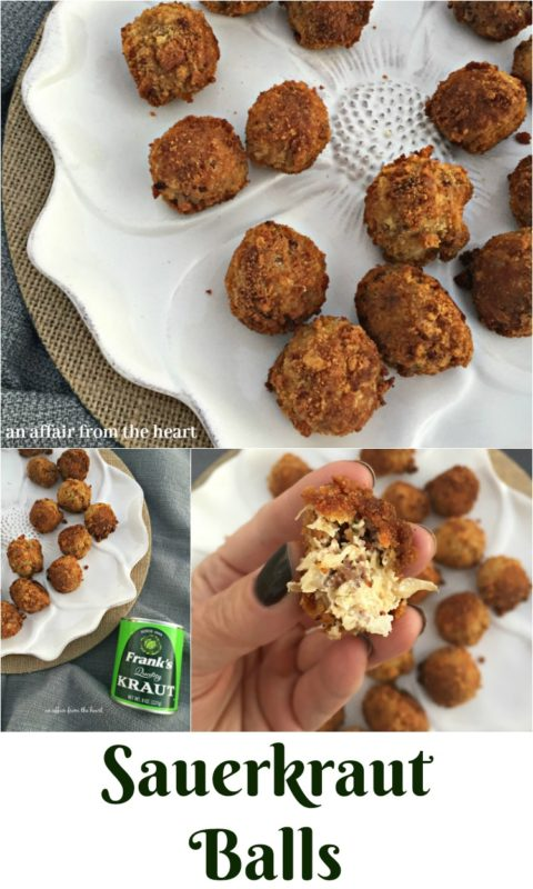 Sauerkraut Balls - An Affair from the Heart
