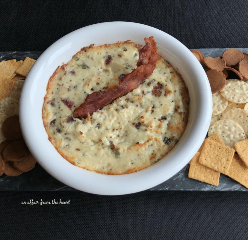 Hot Bacon & Swiss Dip