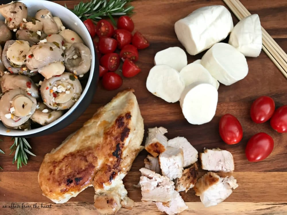Italian Chicken & Mushroom Appetizer