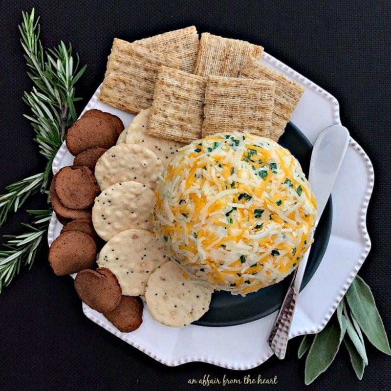 Summer Sausage Cheese Ball
