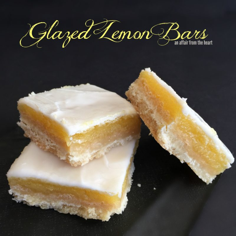 Glazed Lemon Bars