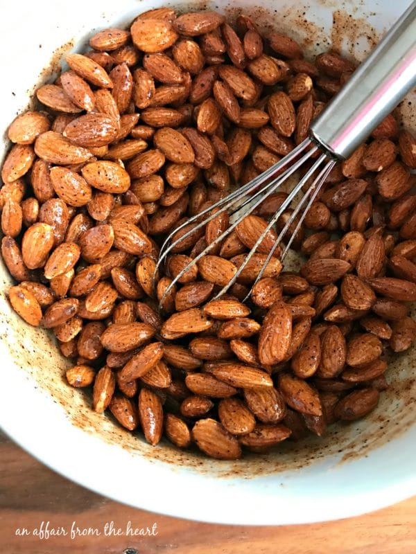 Spicy Smoked Almonds
