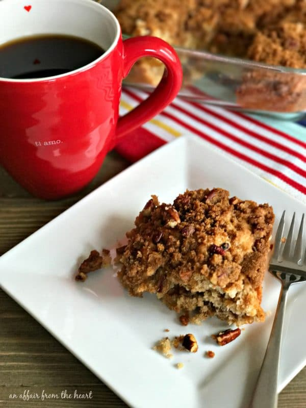 Cinnamon Crunch Coffee Cake