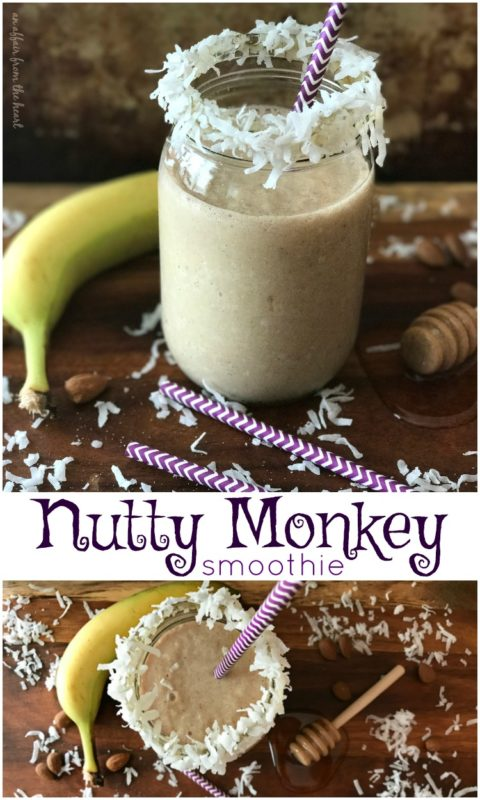 Nutty Monkey Smoothie - An Affair from the Heart