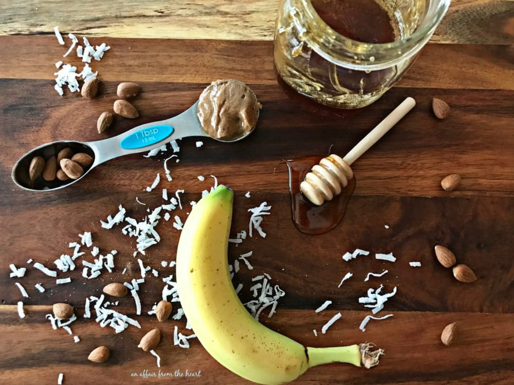 Image result for banana smoothie prep