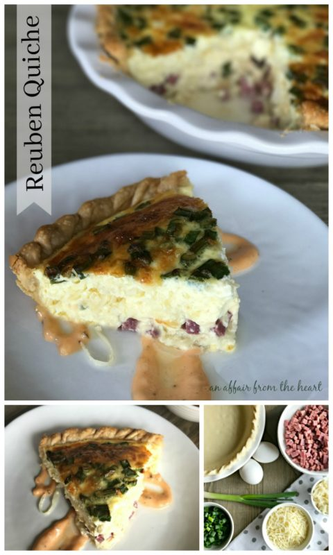 Reuben Quiche - An Affair from the Heart