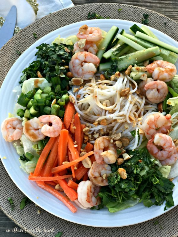Thai Shrimp & Rice Noodle Salad