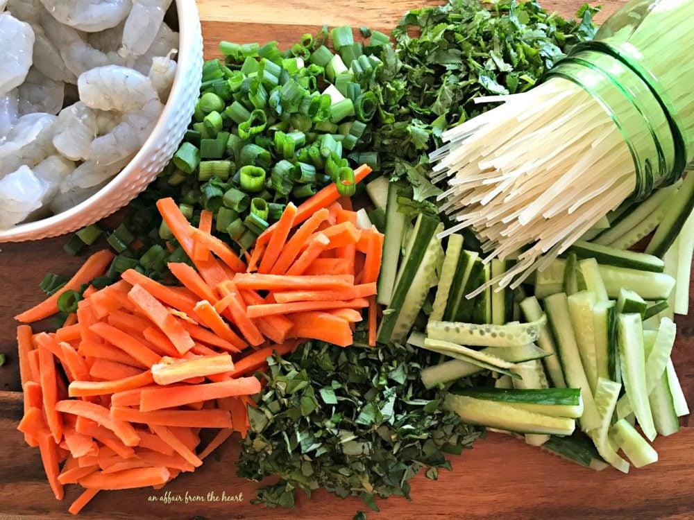 Thai Shrimp & Rice Noodle Salad
