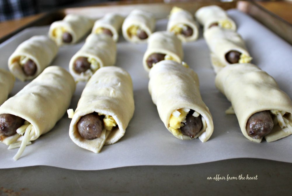 Southwestern Sausage Brunch Roll-Ups