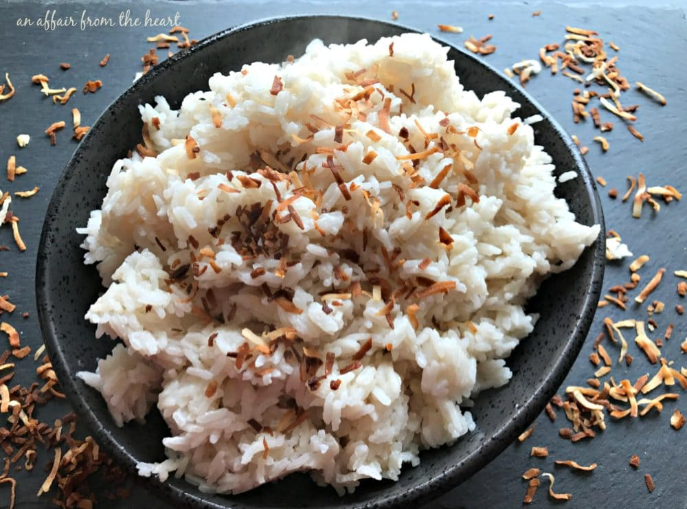 Jamaican Coconut Sweet Rice