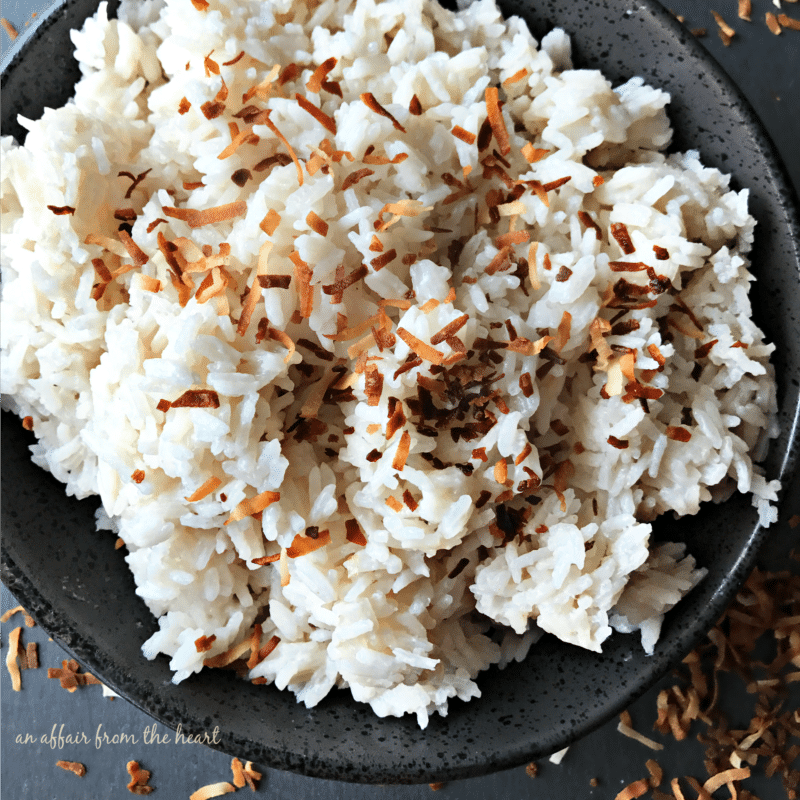 Jamaican Coconut Sweet Rice