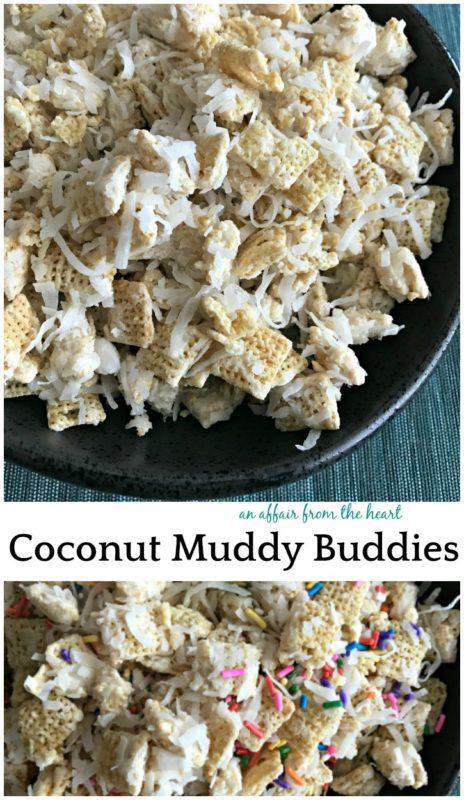 Coconut Muddy Buddies - An Affair From the Heart
