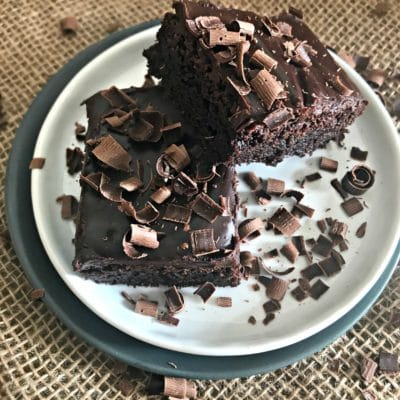 Chocolate Ganache Brownies