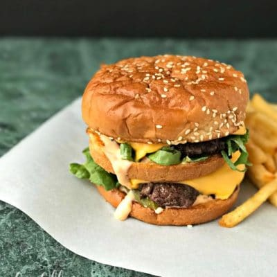 Copycat McDonald's Big Mac