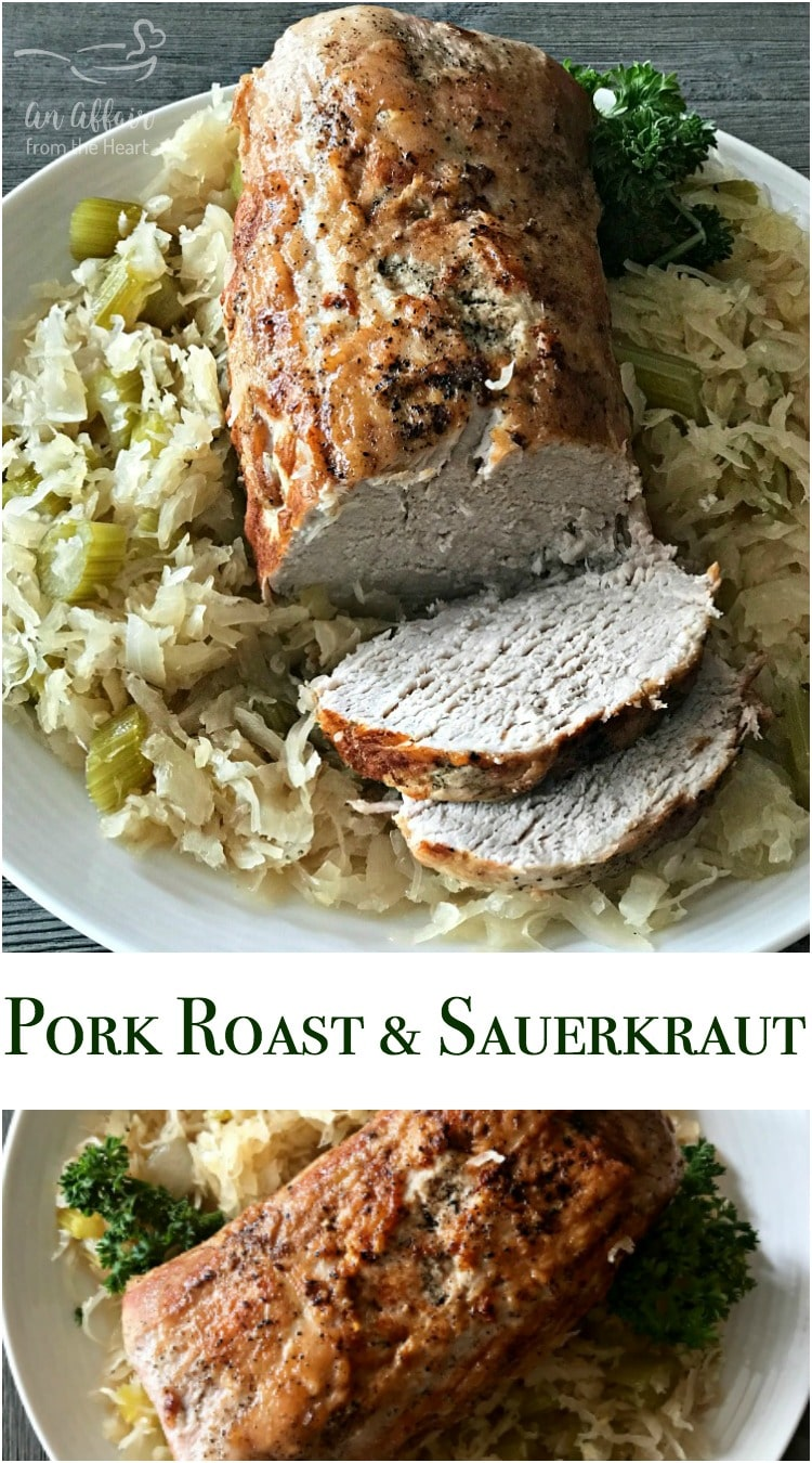 Pork Roast & Sauerkraut - An Affair from the Heart