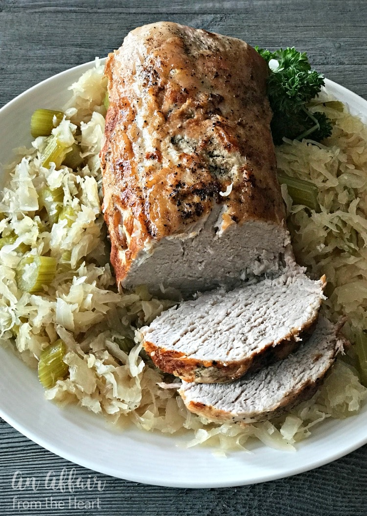 Pork Roast Sauerkraut Recipe Baked In The Oven Perfect Every Time