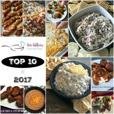 An Affair from the Heart's Top Recipes of 2017