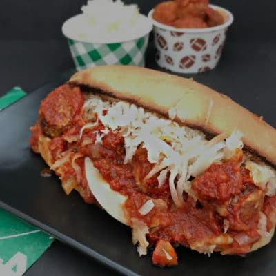 Instant Pot Twisted Meatball Sub