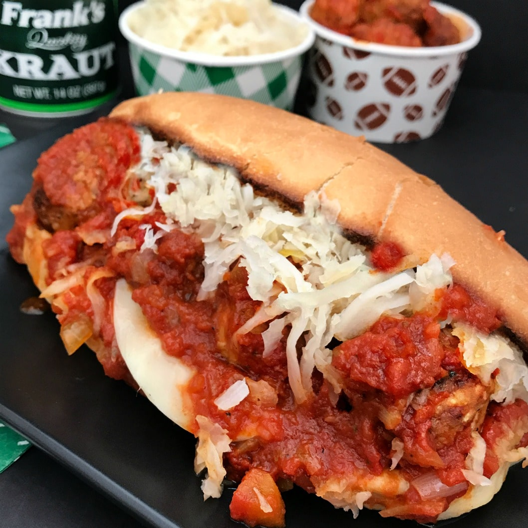 Instant Pot Twisted Meatball Subs