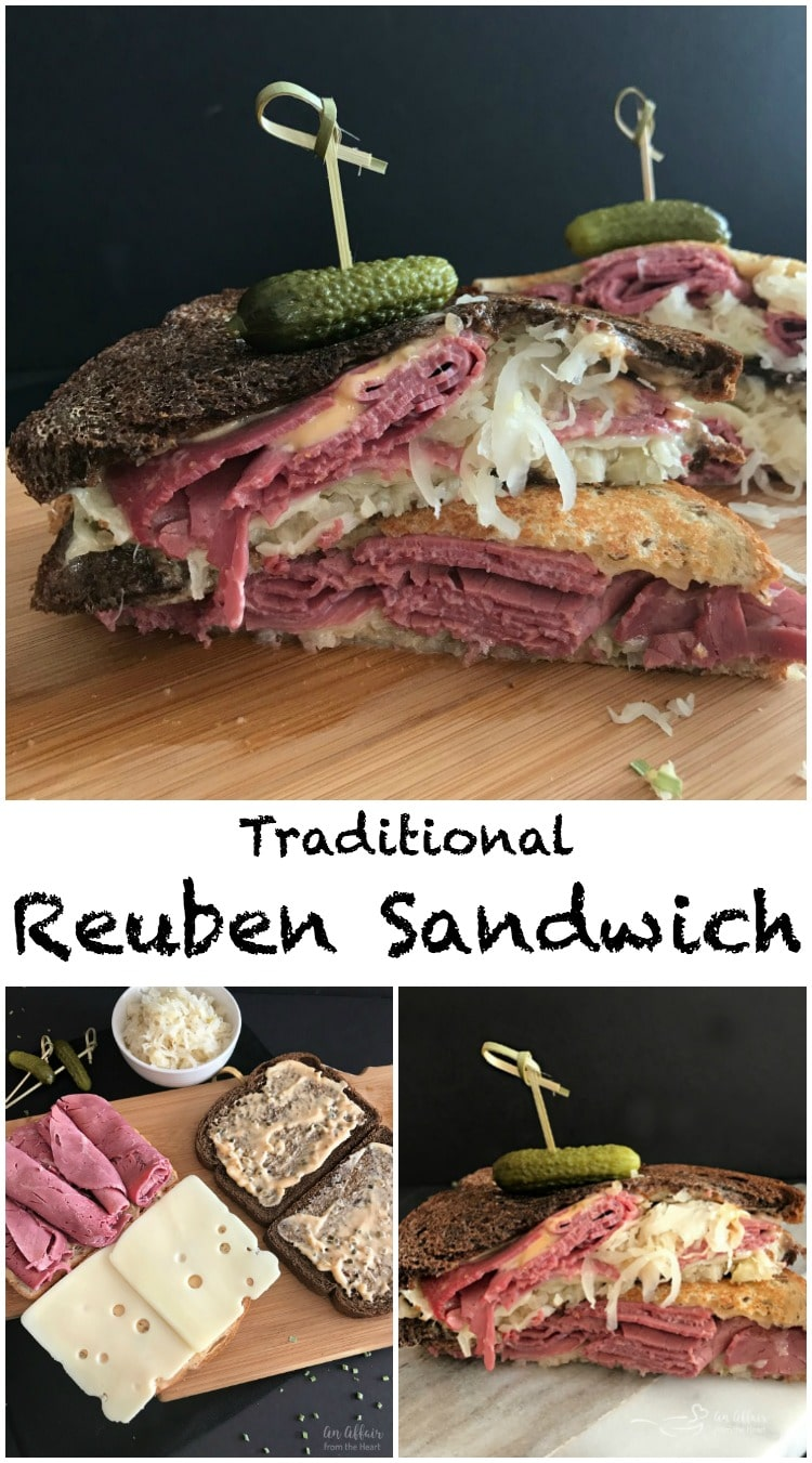 Reuben Sandwich - An Affair from the Heart