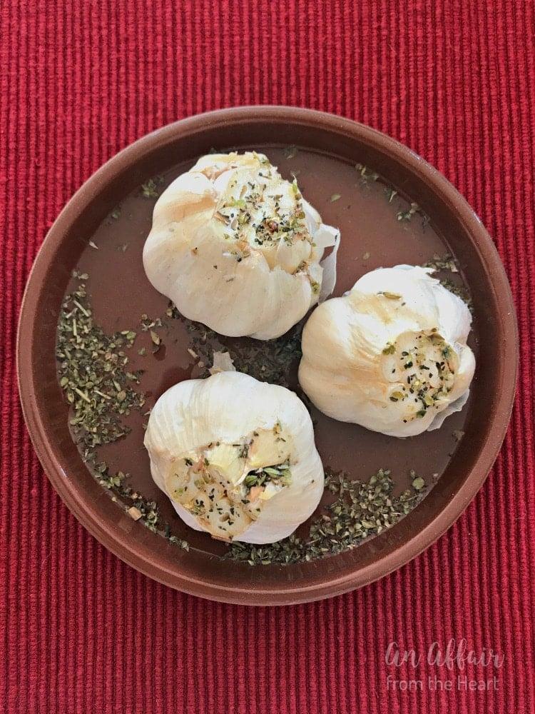 Roasted Garlic Butter - An Affair from the Heart