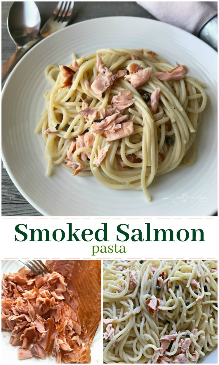 Smoked Salmon Pasta - An Affair from the Heart